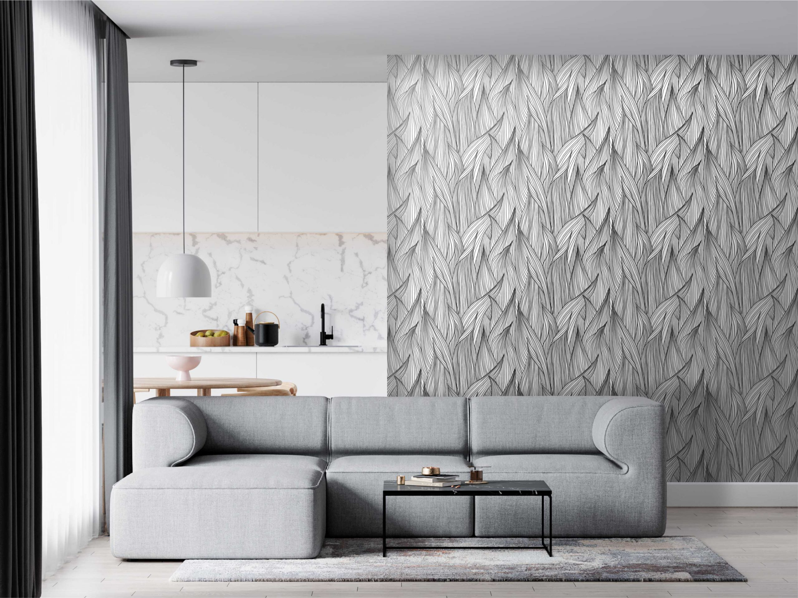 Quais as últimas tendências de papel de parede em 2021